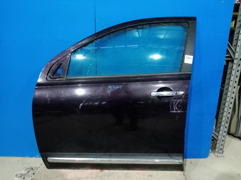 Дверь Nissan Qashqai J10 2006 передняя левая (б/у)