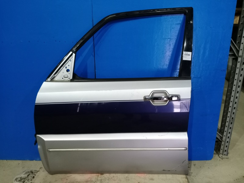 Дверь Mitsubishi Pajero 4 2006 передняя левая (б/у)