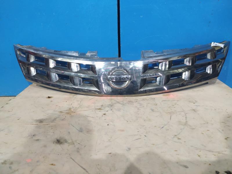 Решетка бампера Nissan Murano Z50 2002 (б/у)