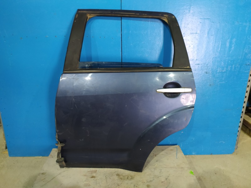 Дверь Mitsubishi Outlander Xl 2006 задняя левая (б/у)