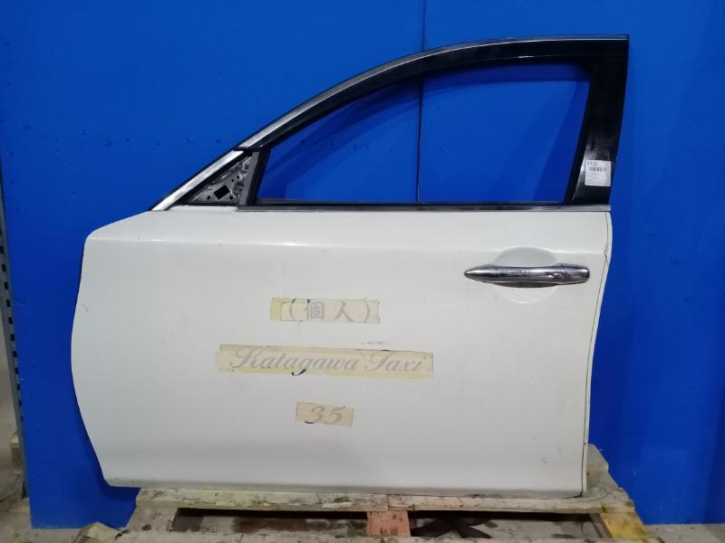 Дверь Infiniti M 2010 передняя левая (б/у)