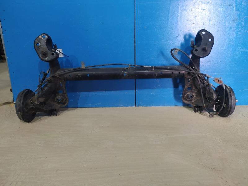 Балка подвески Ford Fiesta Mk6 2012 задняя (б/у)