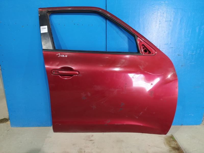 Дверь Nissan Juke 2010 передняя правая (б/у)