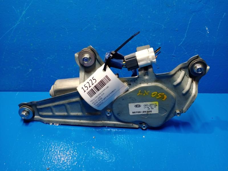 Мотор стеклоочистителя Kia Soul 2008 задний (б/у)