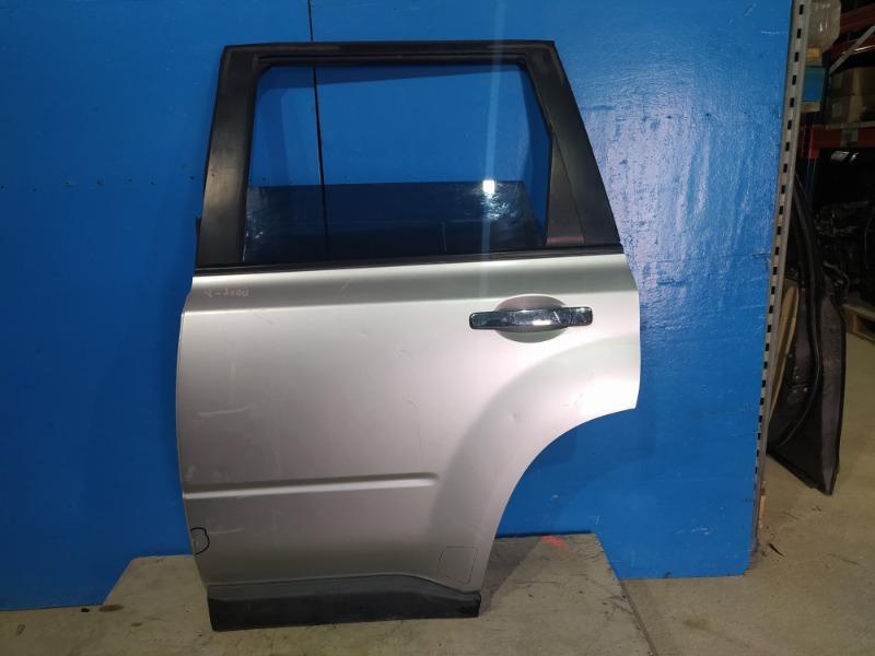 Дверь Nissan Xtrail T31 2007 задняя левая (б/у)