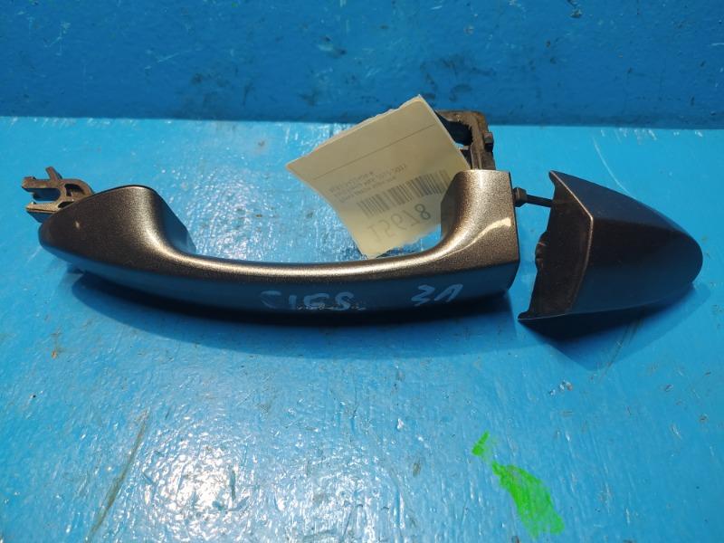 Ручка двери Ford Fiesta Mk6 2012 задняя левая (б/у)