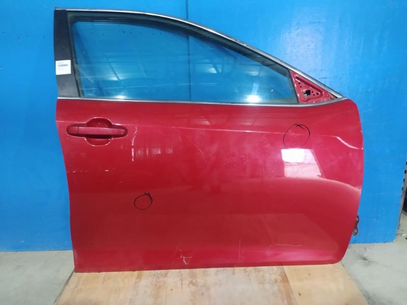 Дверь Toyota Camry 2011 передняя правая (б/у)
