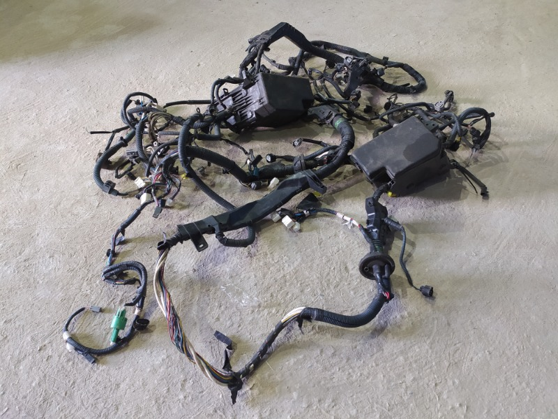 Проводка моторного отсека Toyota Rav4 Xa30 2006 (б/у)