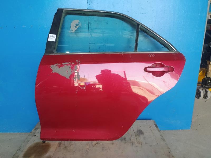 Дверь Toyota Camry 2011 задняя левая (б/у)