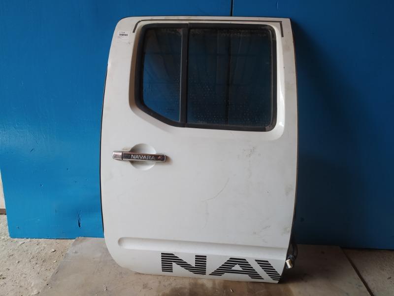 Дверь Nissan Navara 2005 задняя правая (б/у)