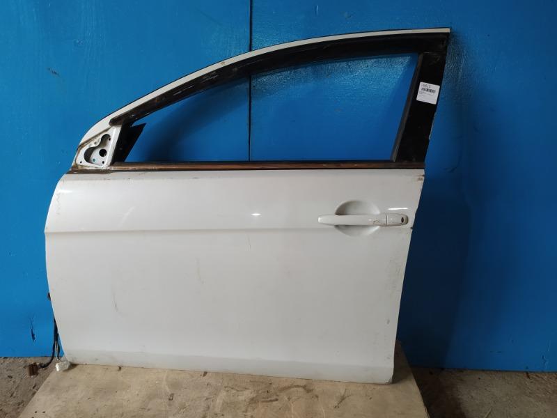 Дверь Mitsubishi Lancer 10 2006 передняя левая (б/у)