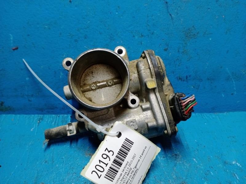 Дроссельная заслонка Subaru Impreza 1.6 2010 (б/у)