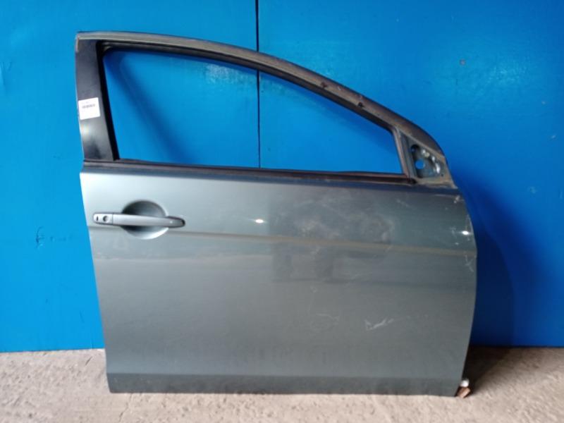 Дверь Mitsubishi Lancer 10 2006 передняя правая (б/у)