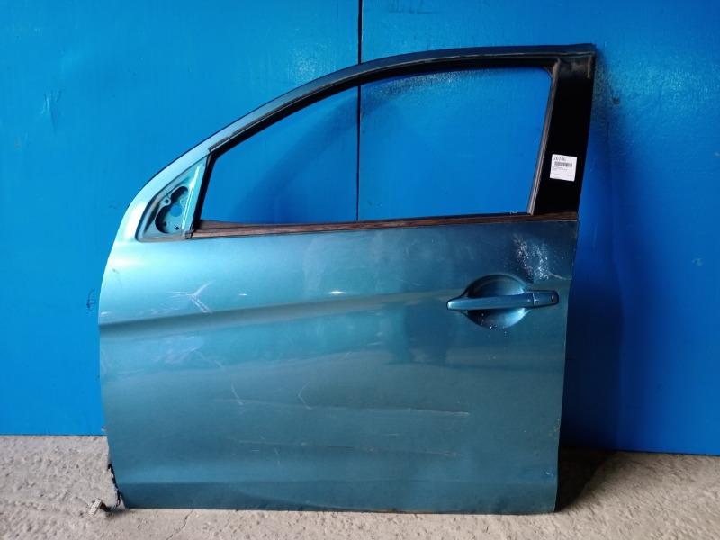 Дверь Mitsubishi Asx 2010 передняя левая (б/у)