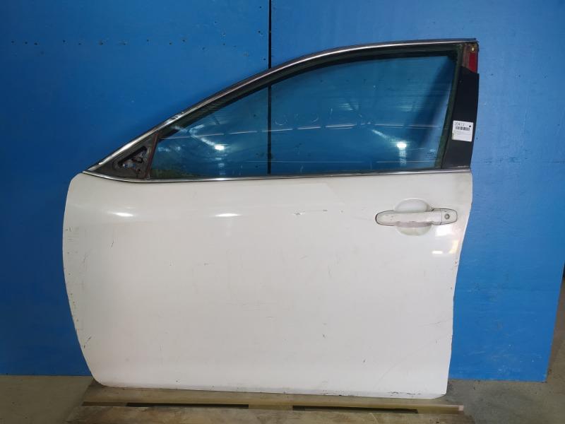 Дверь Toyota Camry 2011 передняя левая (б/у)