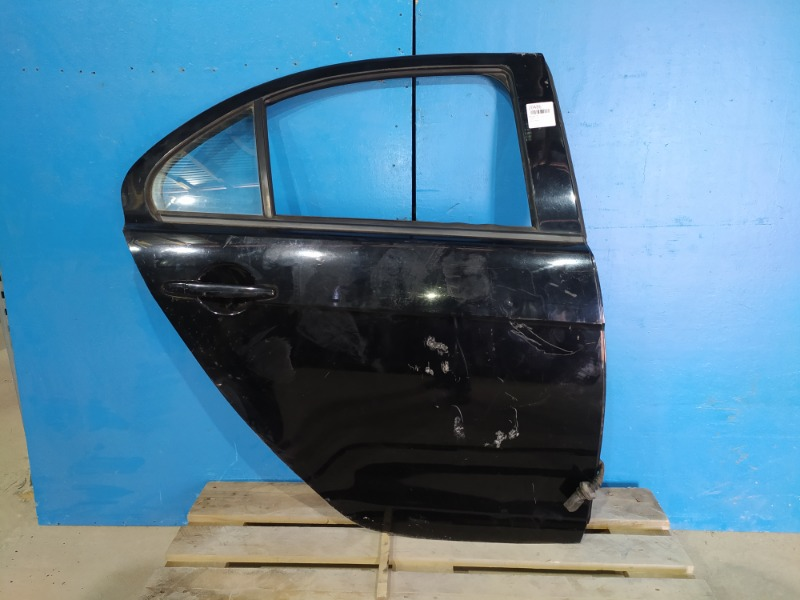 Дверь Mitsubishi Lancer 10 2007 задняя правая (б/у)