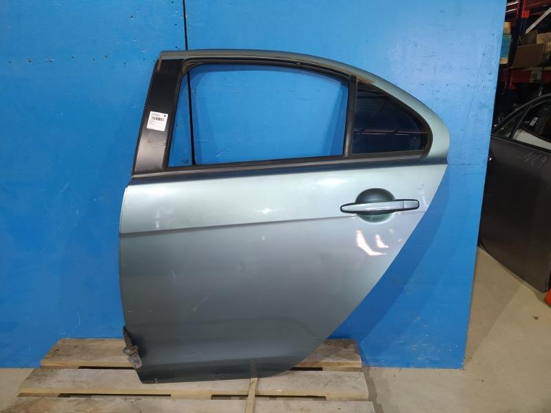 Дверь Mitsubishi Lancer 10 2007 задняя левая (б/у)