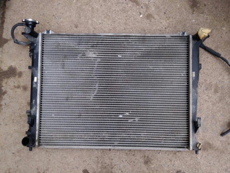 Радиатор двс Hyundai Sonata NF G4KC 2007 (б/у)