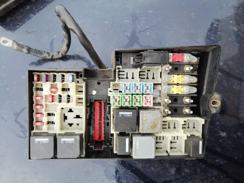 Блок предохранителей Ford Focus 2 CB4 HXDA 2007 (б/у)