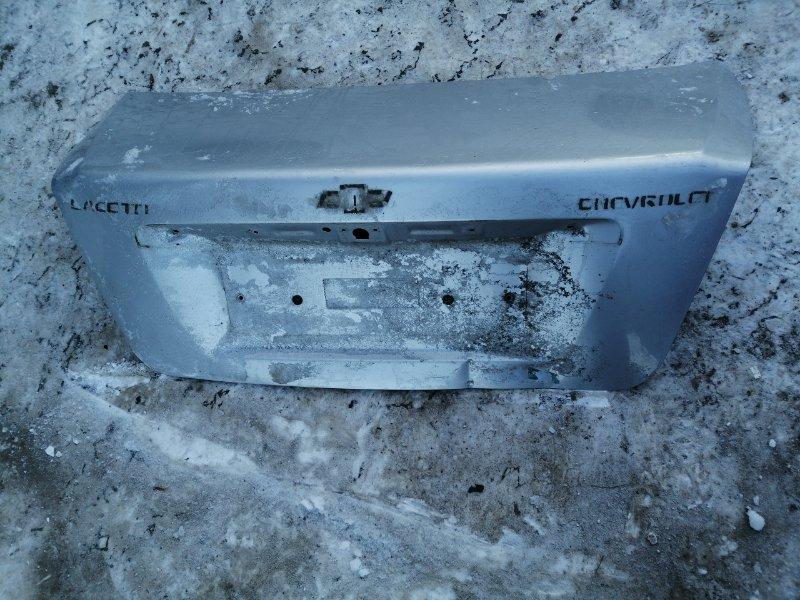 Крышка багажника Chevrolet Lacetti задняя (б/у)