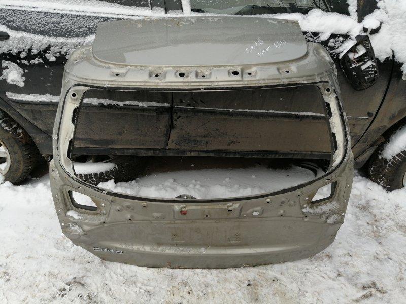 Крышка багажника Kia Ceed JD задняя (б/у)