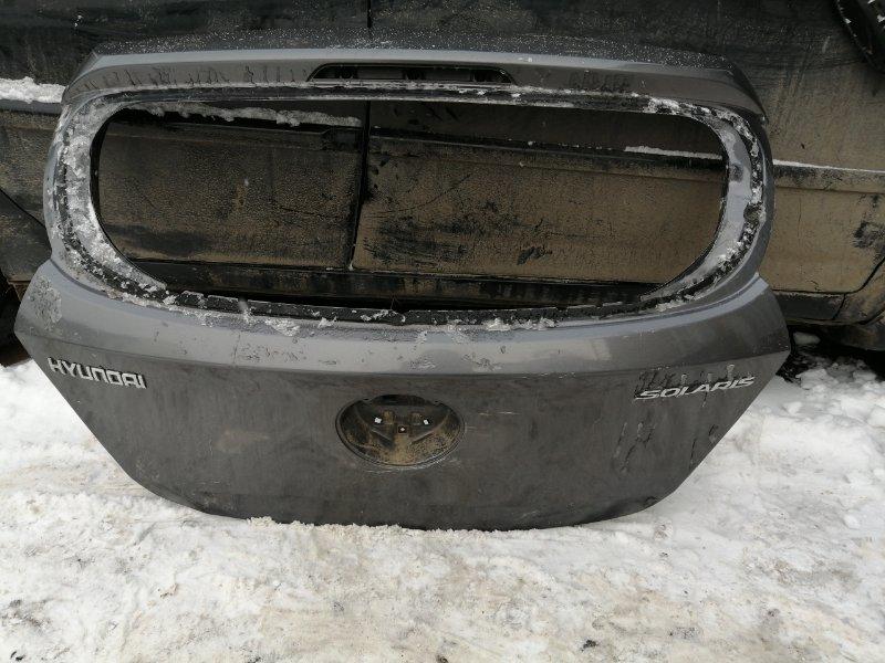 Дверь багажника Hyundai Solaris задняя (б/у)