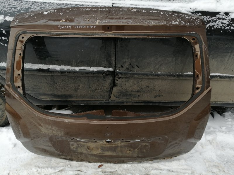 Крышка багажника Renault Duster задняя (б/у)
