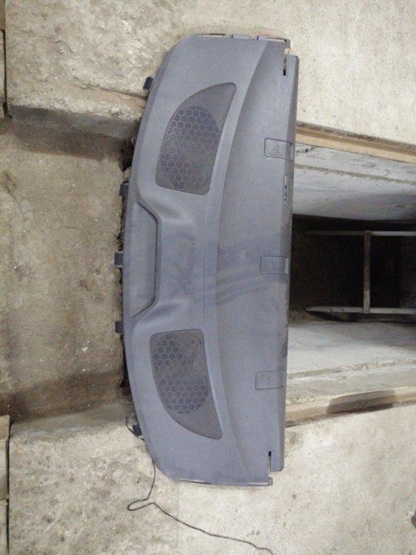 Полка багажника Toyota Corolla 150 1ZR-FE 2008 задняя (б/у)