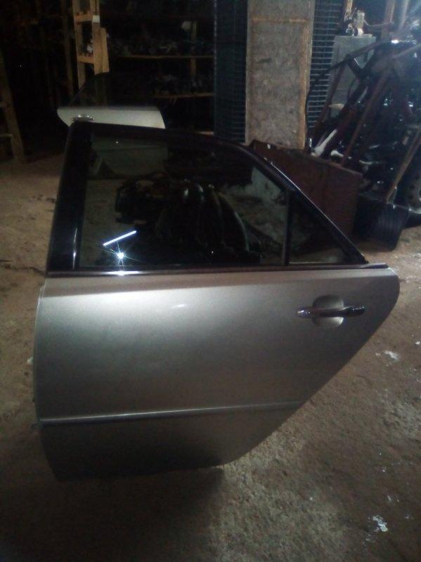 Дверь Toyota Mark 2 110 2JZ-GTE 2002 задняя левая (б/у)