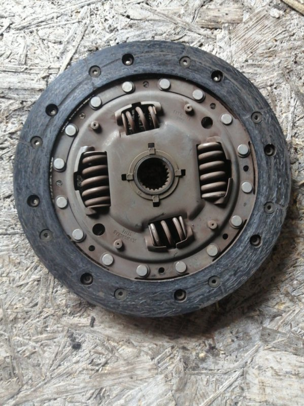 Диск сцепления Mazda 3 BK LF17 2005 (б/у)