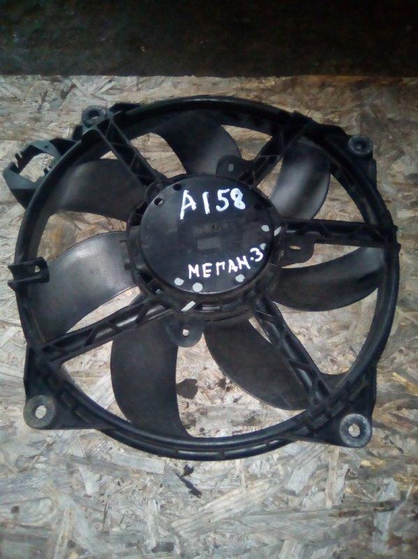 Вентилятор радиатора Renault Megan 3 KZ0G/KZOU/KZ1B K4MP848 2010 (б/у)