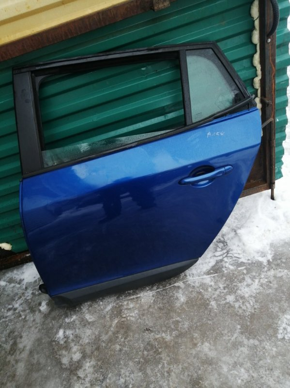 Дверь Renault Megan 3 KZ0G/KZOU/KZ1B K4MP848 2010 задняя левая (б/у)