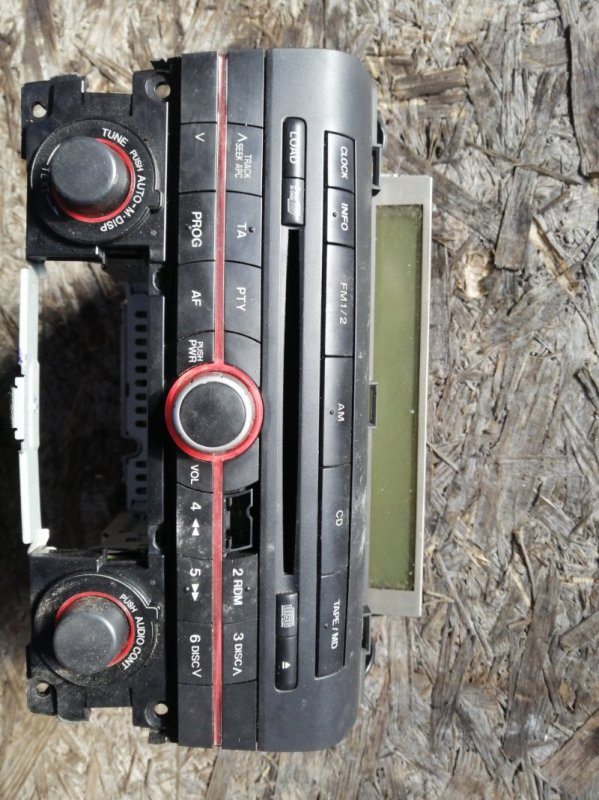 Магнитола Mazda 3 BK LF17 2005 (б/у)