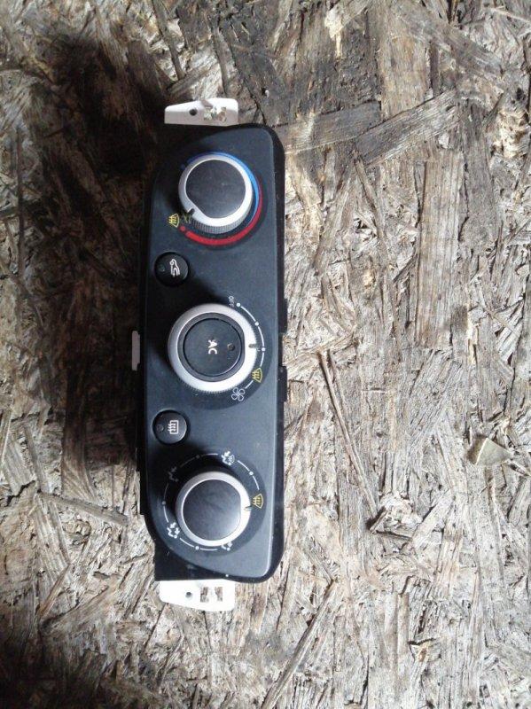 Блок управления печкой Renault Megan 3 KZ0G/KZOU/KZ1B K4MP848 2010 (б/у)