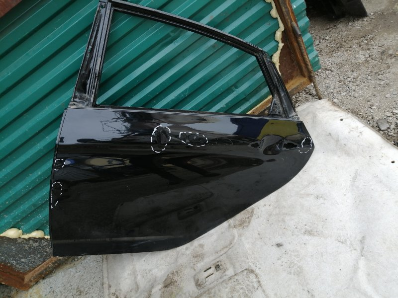 Дверь Hyundai I30 2014 задняя левая (б/у)