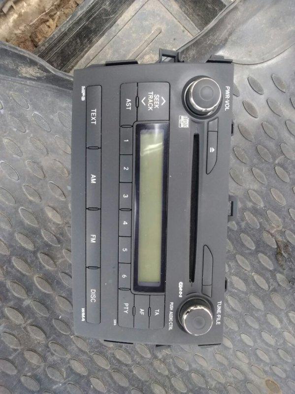 Магнитола Toyota Corolla 150 1ZR-FE 2008 (б/у)