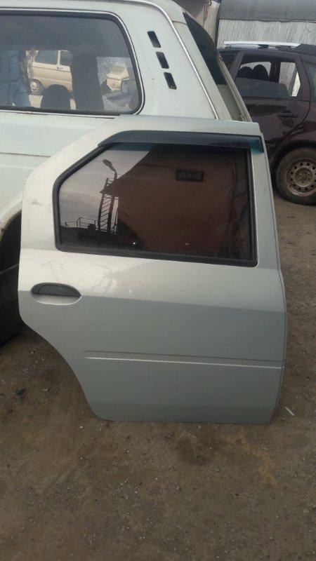 Дверь Renault Logan задняя правая (б/у)