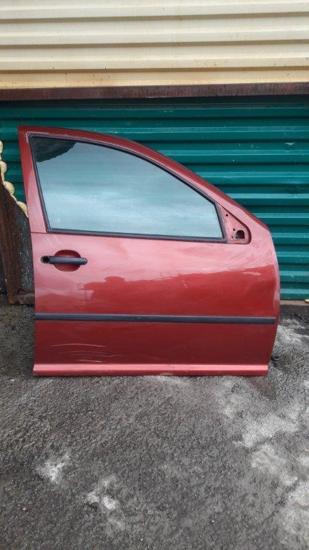 Дверь Volkswagen Bora AKL 1999 передняя правая (б/у)