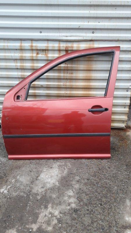 Дверь Volkswagen Bora AKL 1999 передняя левая (б/у)