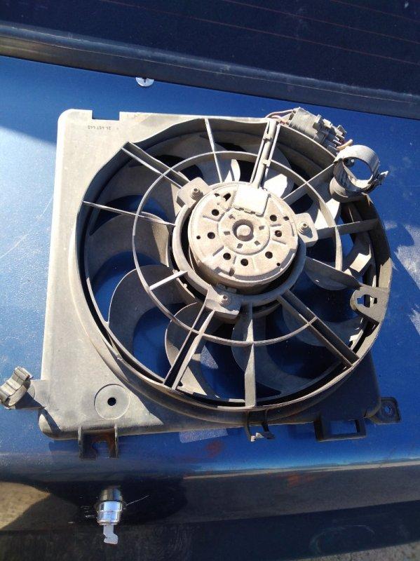 Вентилятор радиатора Opel Astra L35 Z13DTH 2008 (б/у)