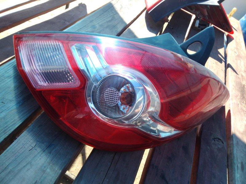 Фонарь Nissan Tiida HR15 2008 задний правый (б/у)