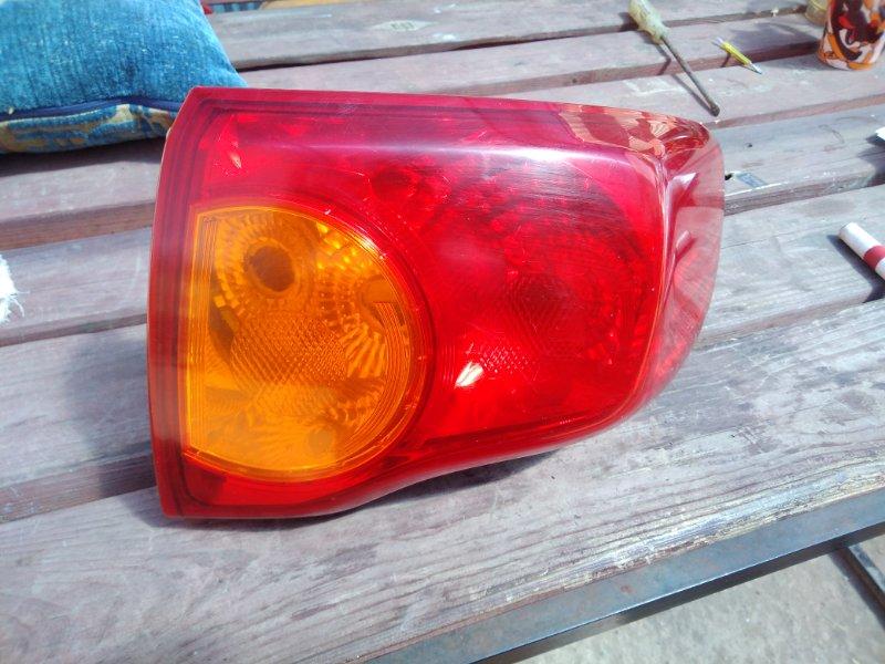 Фонарь Toyota Corolla 150 1ZR-FE 2008 задний правый (б/у)