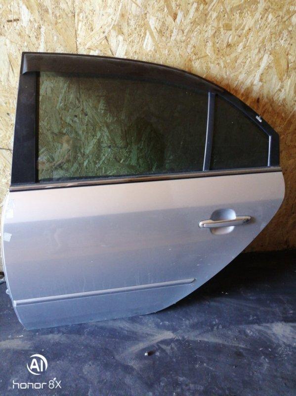 Дверь Hyundai Sonata NF G4KC 2007 задняя левая (б/у)