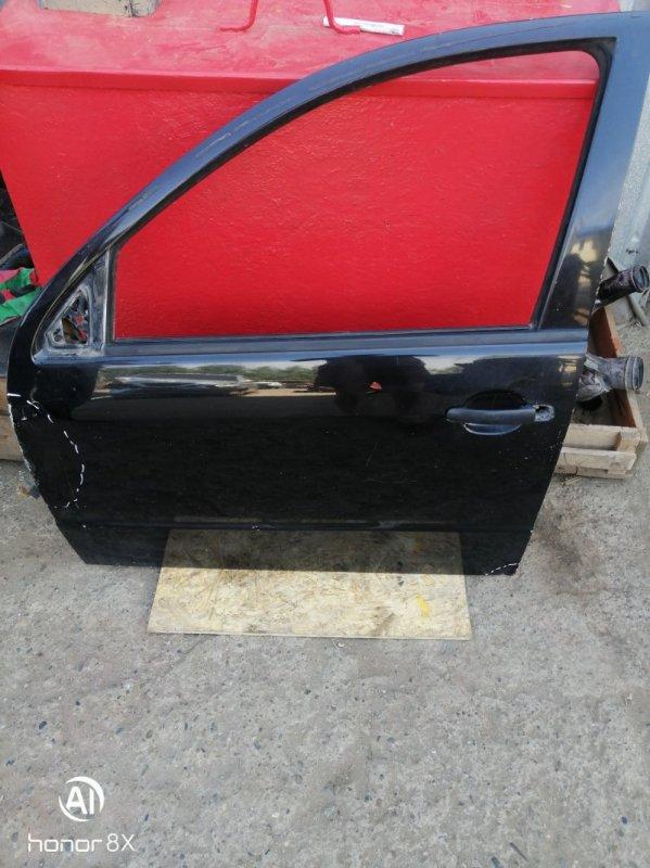 Дверь Skoda Fabia 1 BME 2008 передняя левая (б/у)