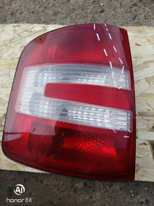 Фонарь Skoda Fabia 1 BME 2008 задний левый (б/у)