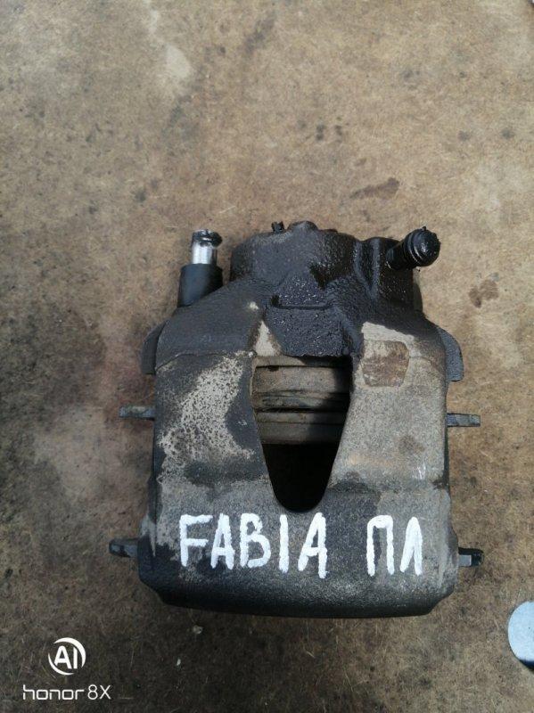 Суппорт Skoda Fabia 1 BME 2008 передний левый (б/у)