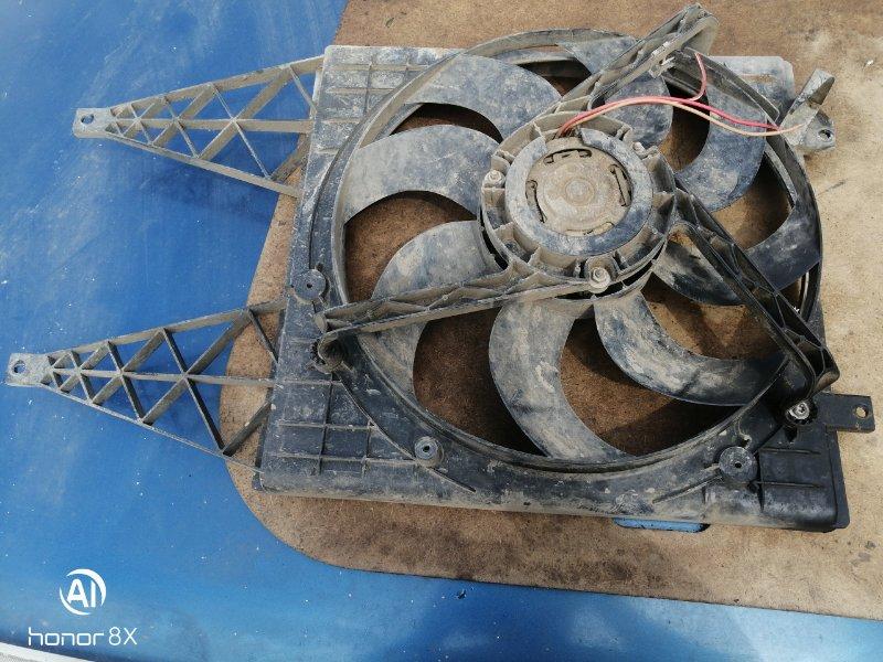 Вентилятор радиатора Skoda Fabia 1 BME 2008 (б/у)