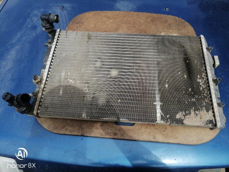Радиатор двс Skoda Fabia 1 BME 2008 (б/у)