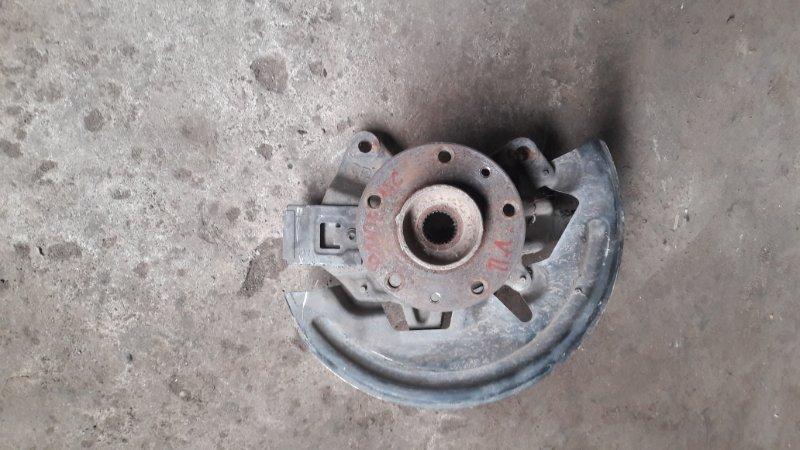 Кулак поворотный Renault Fluence передний левый (б/у)