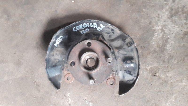 Кулак поворотный Toyota Corolla E120 передний левый (б/у)